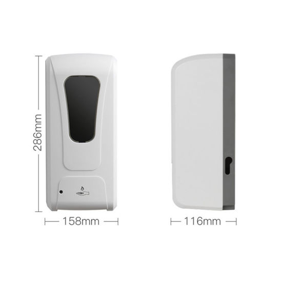 China Factory Direct Sales Adjustable Mode Touch Less Hand Free Automatic Sensor Foam Soap Dispenser For Hand Hygiene Wall Mounting China Dispenser Automatic Sensor