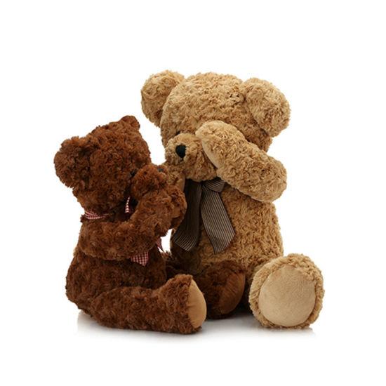 Customized Rose Velvet Teddy Bear