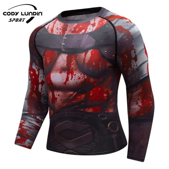 Cody Lundin Muscle Fit Gym Activewear T Shirt Workout Fitted T Shirts for Men Soft Cotton Custom Sport Mens Sportswear Fitness Tshirt