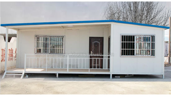 Prefab Container House with Steel Structure for Family Housing