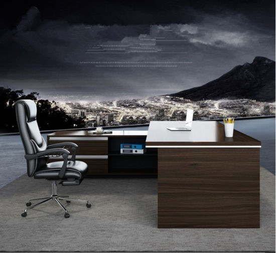 Modern Chinese Wholesale Custom Made Wooden Luxury Boss Executive Table