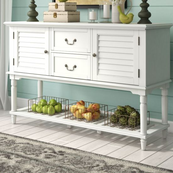 China Kitchen Cabinets White Buffet