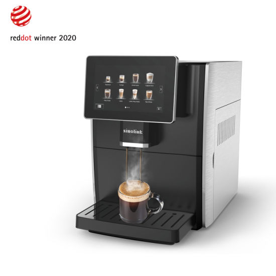 Professional Touch Screen Display Automatic Espresso Coffee Machine