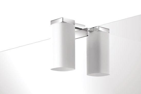 Chrome 230v Led Bulb G9 Square Bathroom