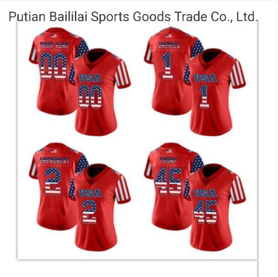 [Hot Item] Best Price Custom Team Football Jerseys China Manufacture Sportswear