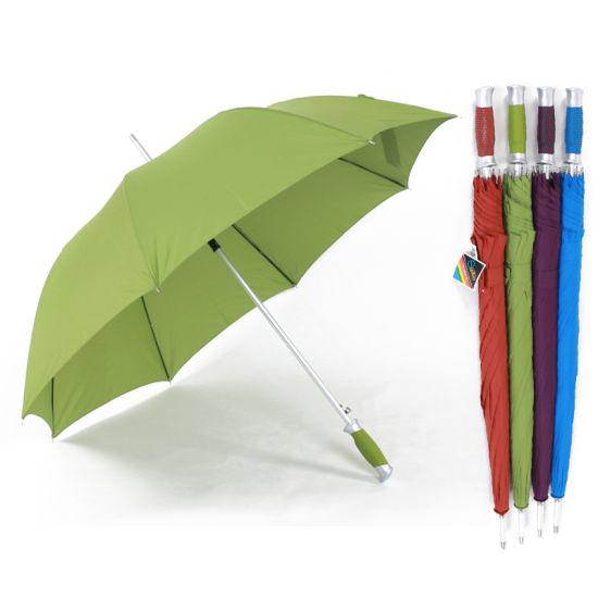 Sunfoo High Quality Aluminum Automatic Gift Golf Rain Umbrella