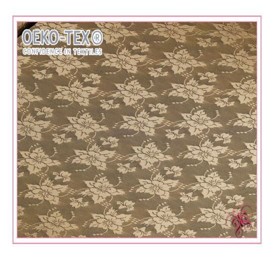 Wholesale Cheap Delicate Flower Lace Fabric for Clothing