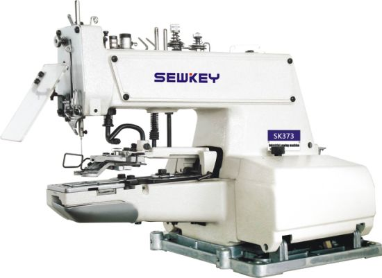 Sk373 Button Attaching Industrial Sewing Machine