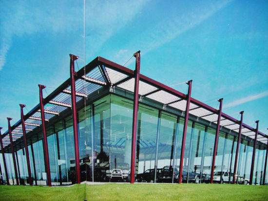 Steel Frame Building, Steel Structure Building (SSW-467)