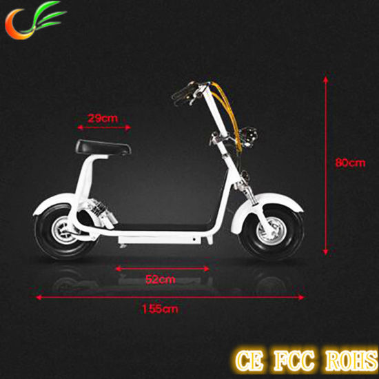 City Coco 800W 34kgs Weighted Adult Electric Motorcycle pictures & photos