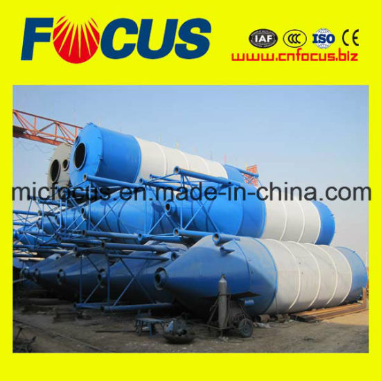 Reliable and Top Quality 50t--300t Bolted Flake Cement Silo for Bulk Powder Storage pictures & photos