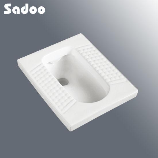 Square Ceramic Squatting Pan SD-D807