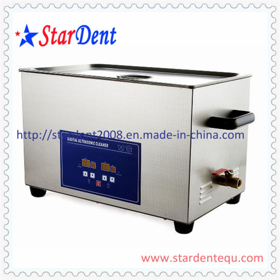 22L Dental Stainless Steel Digital Tabletop Ultrasonic Cleaner pictures & photos