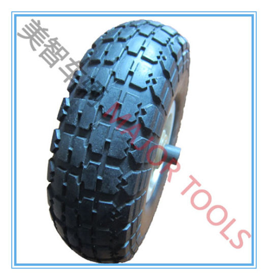 10 Inch Puncture Proof PU Foam Wheel for Leaf Collector pictures & photos