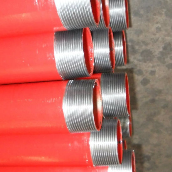 Hydrostatic Galvanzied Painted Threading Steel Pipe for Fire Protection pictures & photos