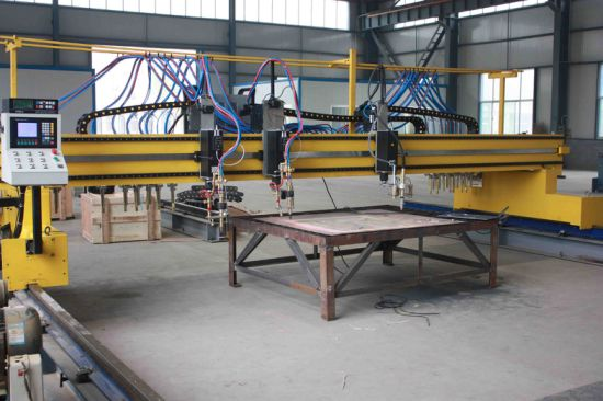 Qgi Economical Double-Side Driven Gantry-Type CNC Cutting Machine pictures & photos