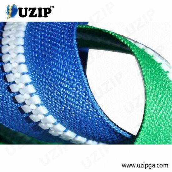 Long Chain PP/Derlin/ Resin/Plastic Zipper End