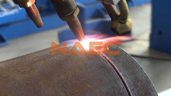 "Five-Axis CNC Flame/ Plasma 2-24"" Pipe Cutting/Profiling Machine"