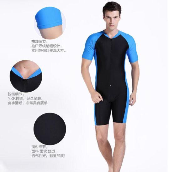 043bb2fcb9 China 2016 Hot Sale One-Piece Lycra Man′s Swimwear Wetsuit - China ...