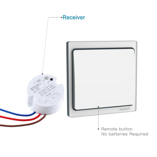 China high end wireless battery less 120v 220v onoff 1000w remote high end wireless battery less 120v 220v onoff 1000w remote control smart wall light switch aloadofball Images