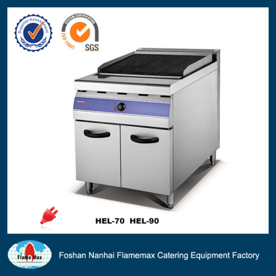 Electric Lava Rock Grill with Cabinet (HEL-90)