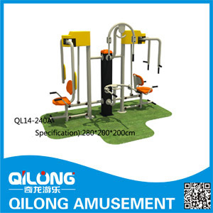 Good Quanlity Galvanized Fitness Equipment (QL14-240A) pictures & photos