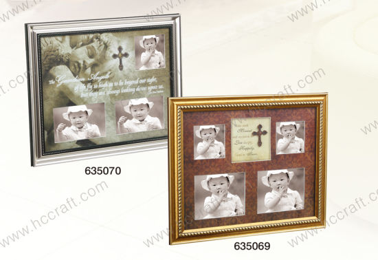 Multiple Opening PS Photo Frame for Home Decoration pictures & photos