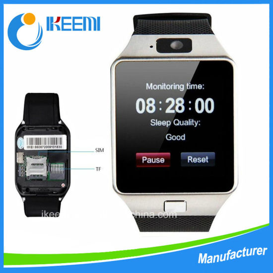 Bluetooth Dz09 Smart Watch Camera Watch Wristwatch with Camera, SIM Card