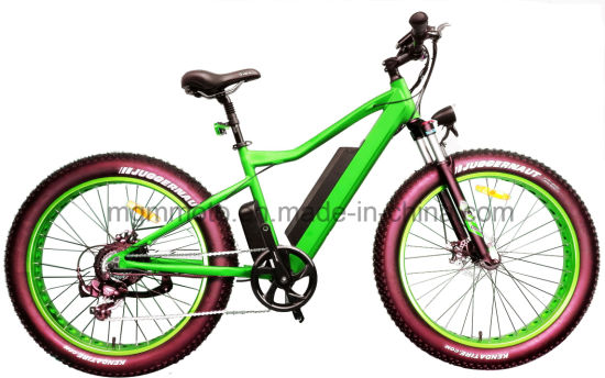 500W 750W HID Battery Fat Tire 26inch Mountain Electric Bike pictures & photos