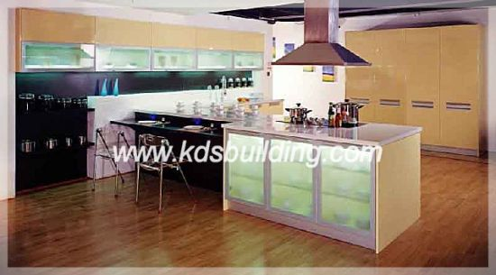China Painting Kitchen Cabinet for Online Sales (KDSLC022 ...