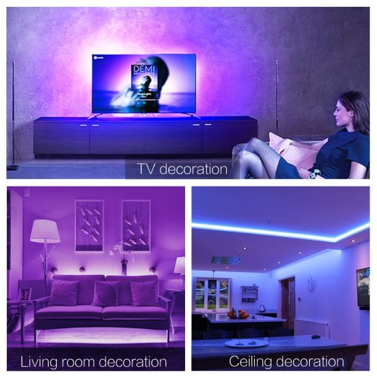 LED Strip Light Bar Color RGB LED Flex Lamp for Home Decoration