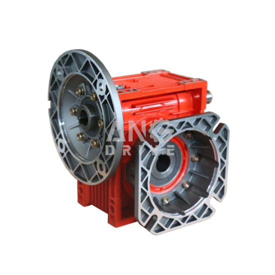 Double Dual Output Shaft Gearbox Worm Gear Gear Box