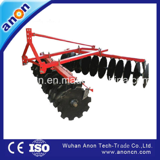 Anon Middle Duty 3-Point 20 Discs Harrow for 50HP Tractor