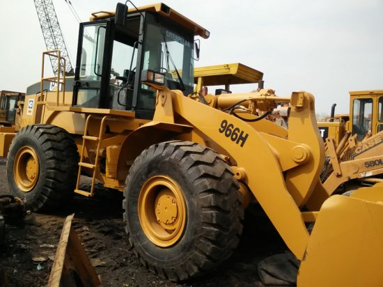 Used Wheel Loader Caterpillar 966h in Excellent Working Condition with Amazing Price. Secondhand Cat Wheel Loader 966c, 966f, 966g on Sale.