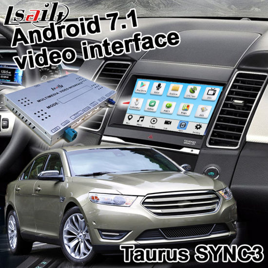 China Lsailt Android Gps Navigation System For Ford Taurus Sync 3