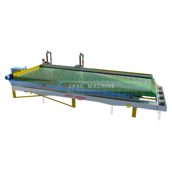 Gold Gravity Separation Vibrating Shaker Table for Mining Recovery