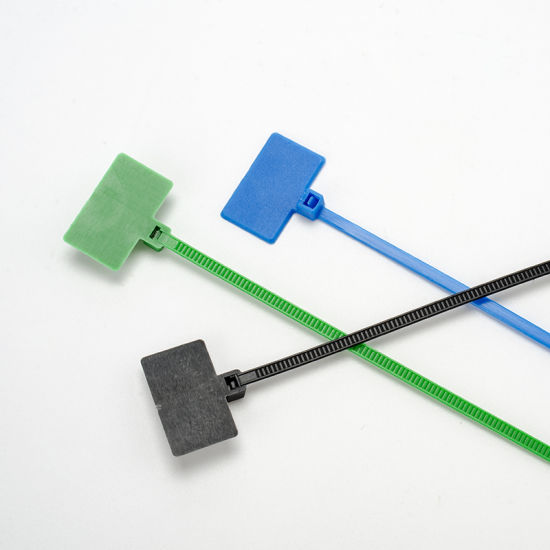 Zgs Marker Nylon Cable Ties Self-Locking for Wire Marking and Organizing