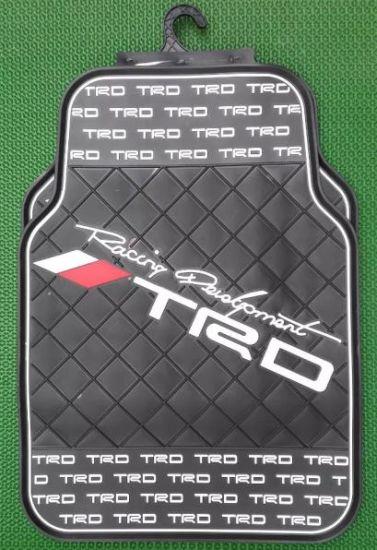 4PCS Universal Trd Waterproof Soft Touch Latex Car Floor Foot Mat