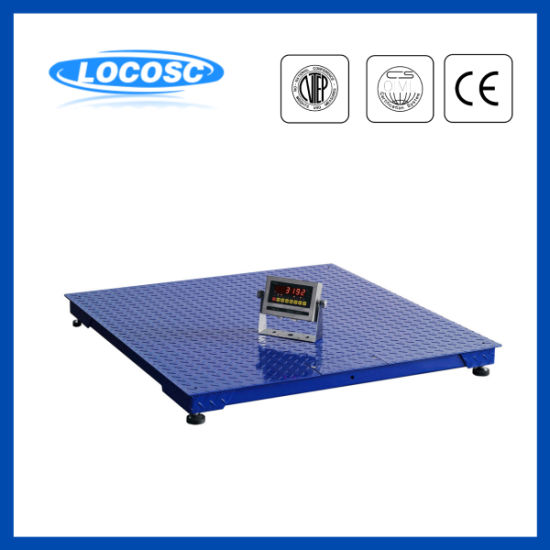 LED LCD Display Rechargeable Battery Floor Scale