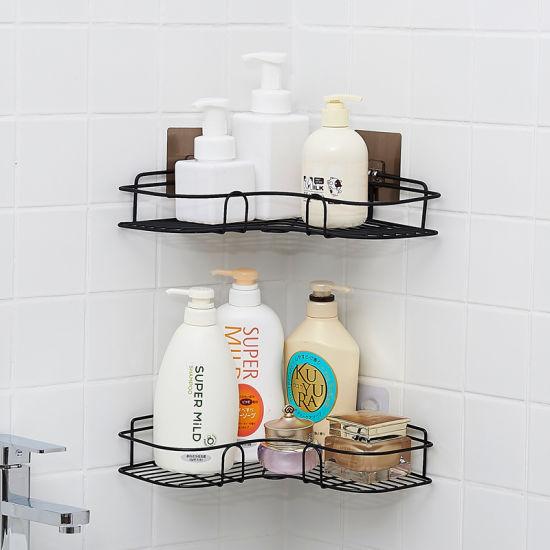 Stick On Kitchen Bathroom Wall High, Bathroom Wall Rack