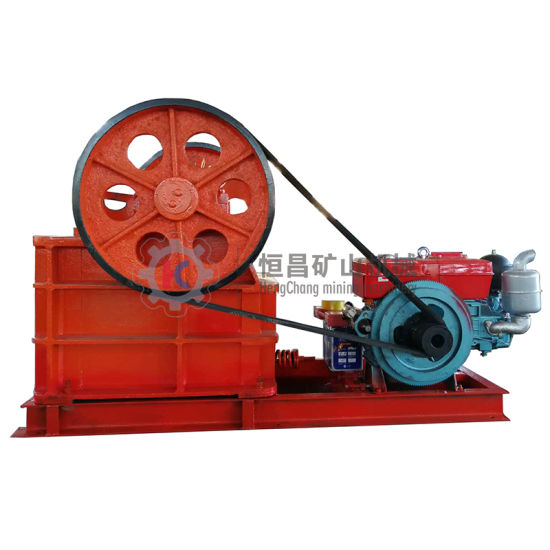 Ore Processing Plant Limestone/Gold/Copper Crushing Machine PE150X250 Jaw Crusher for Sale