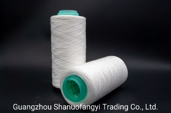 100% Spun Polyester Sewing Thread 40/2 Staple Polyester Fiber pictures & photos