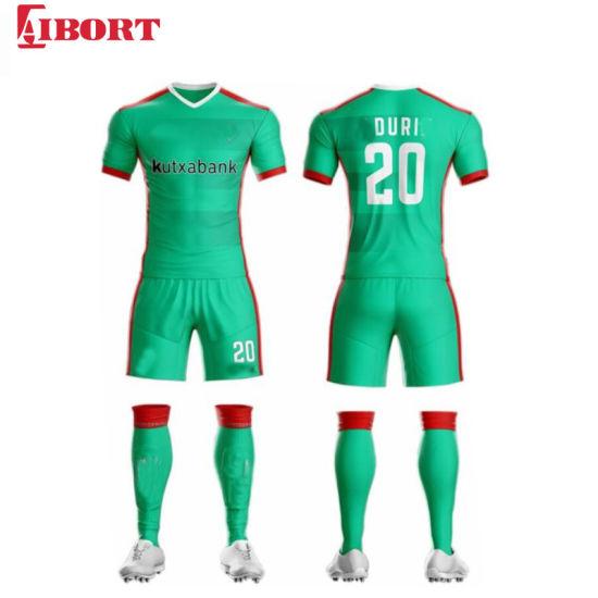Aibort Best Quality Sublimation Football Shirt Soccer Jersey Uniforms (J-SC035 (6))