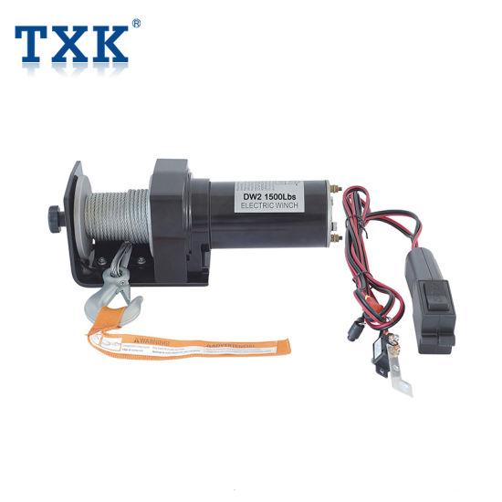 Txk Wholesale 4X4 Manual DMX Mini 220V Small ATV 9500lbs Boat Anchor Electric Winch
