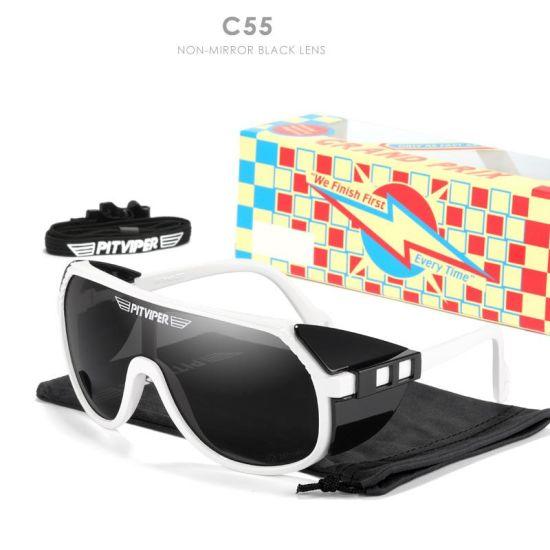Outdoor Anti-UV400 Tr90 Silver Mirror Sports Windproof PV03 Pits Viperes 2021 Sunglasses