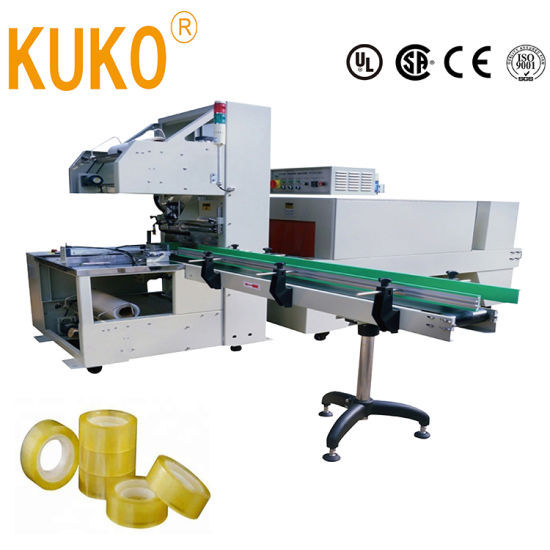 Full Automatic Single Multiple Several Adhesive PVC BOPP Tapes Sleeve Shrink Shrinkable Packing Packaging Wrapping Wrap Wrapper Machine