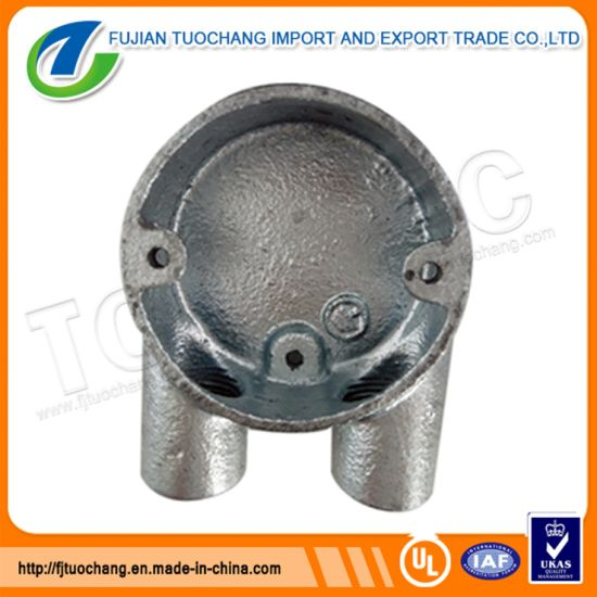 Hot-DIP Galvanized Round Electrical U Way Conduit Box pictures & photos