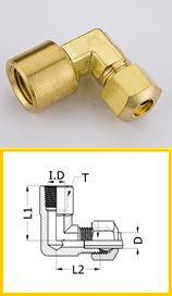 Connector Female Thread Hose Brass Fitting pictures & photos