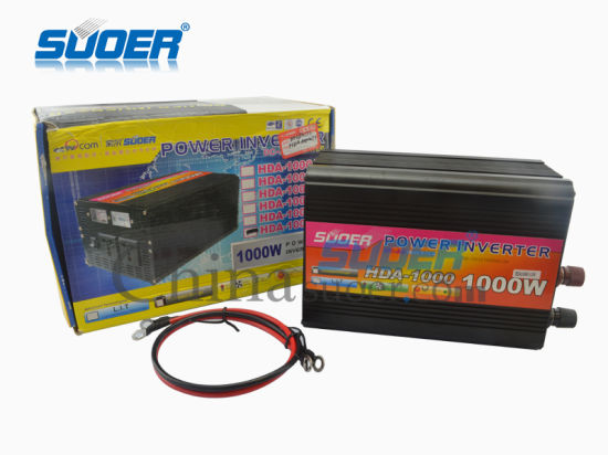 Solar DC Inverter 1000W Modified Sine Wave Power Inverter 48V to 220V (HDA-1000F) pictures & photos