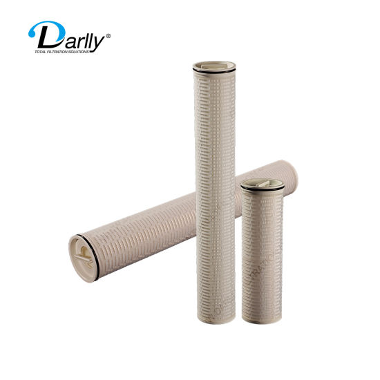 PP Pleated High Flowment Filter Cartridge for Power Plant